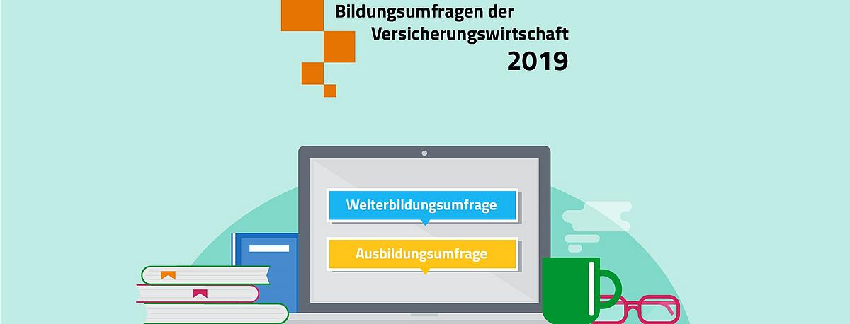 Frisch online: Ergebnisse der Weiterbildungsumfrage der Versicherungswirtschaft 2019