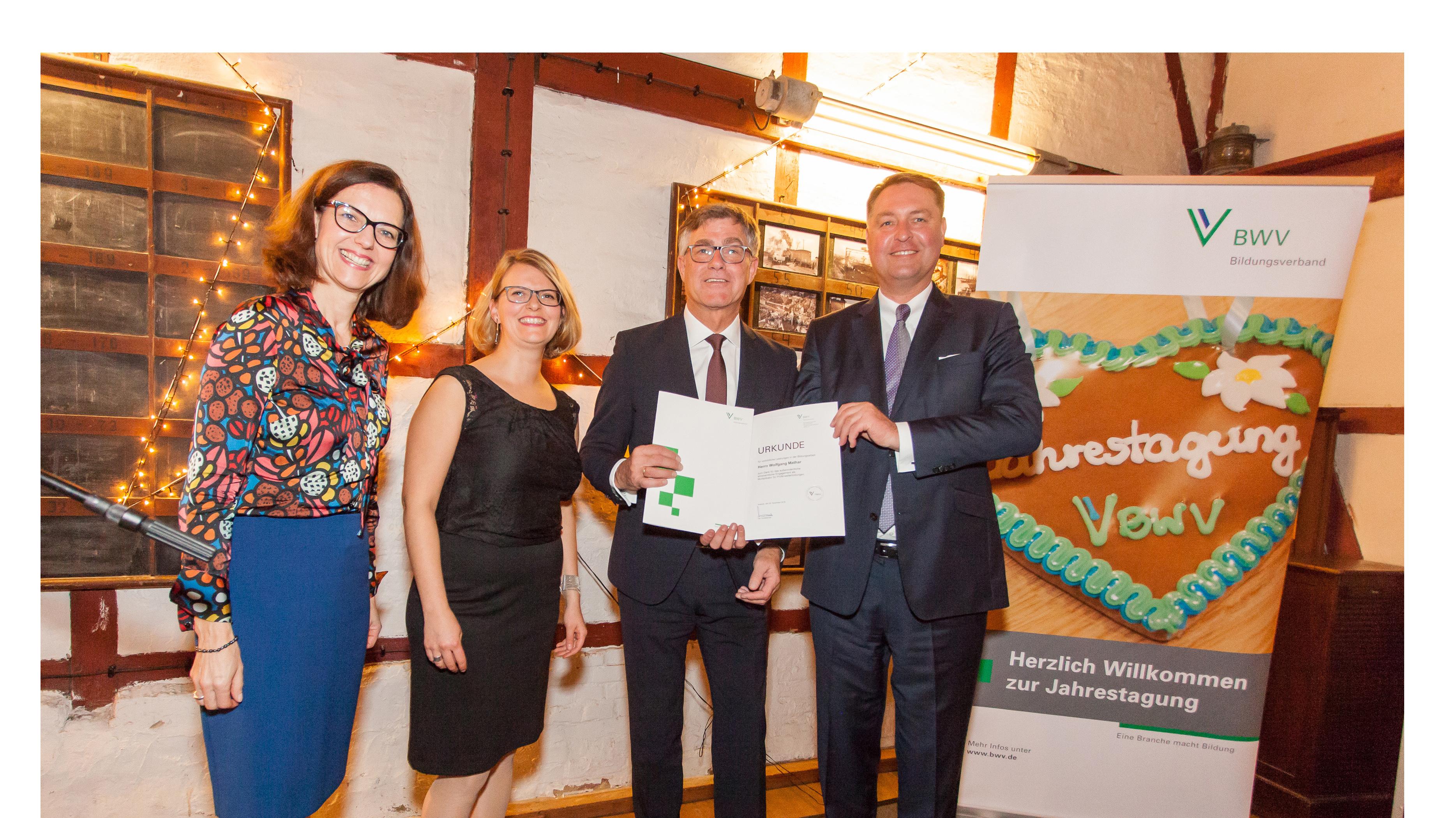 BWV Bildungsverband Jahrespreis 2018 2