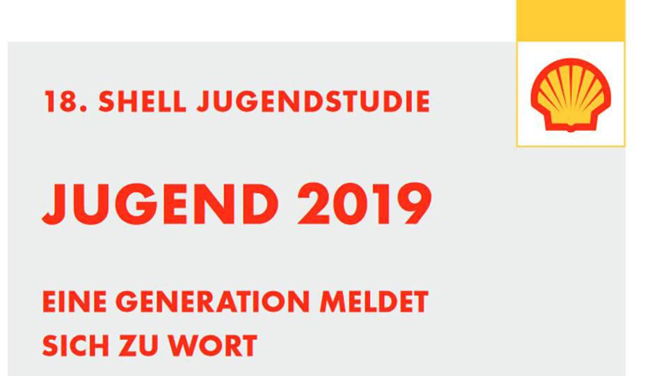 18. Shell Jugendstudie 2019: Jugendliche melden sich zu Wort
