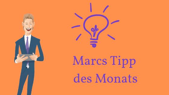Marcs Tipp des Monats: Meine Online-Marke? Unverkennbar ich.