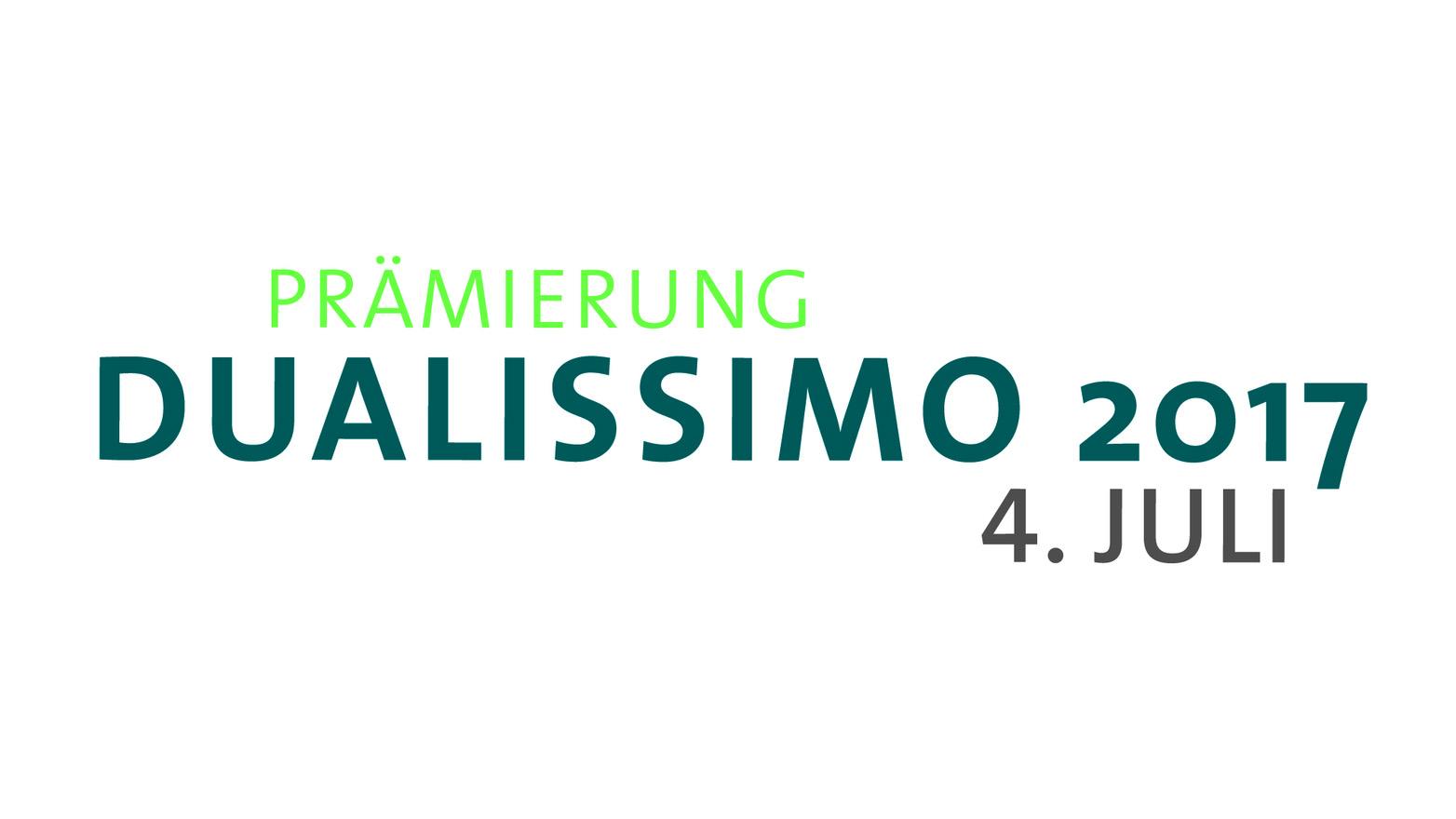 Dualissimo 2017- Bewerbungsphase gestartet!