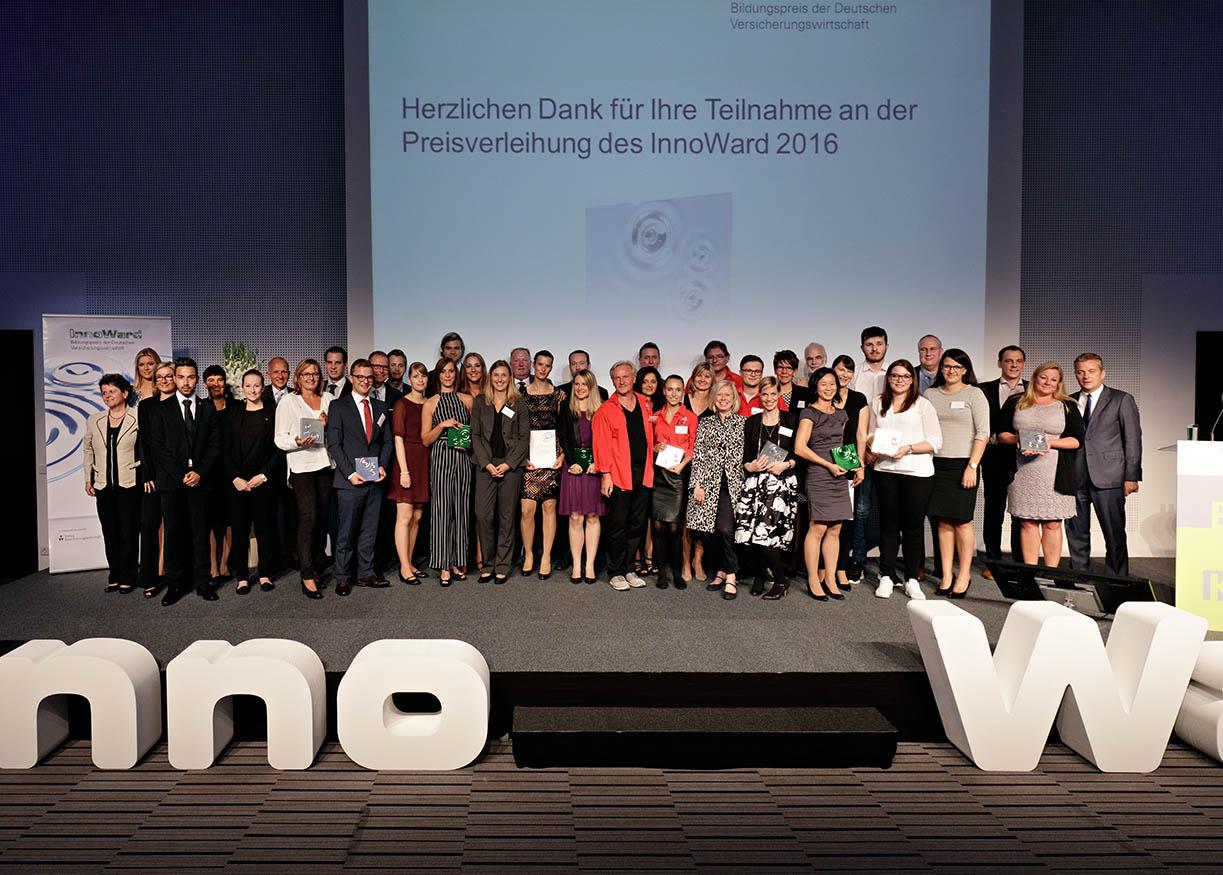 InnoWard 2016: Bildungspreis der Versicherungswirtschaft verliehen
