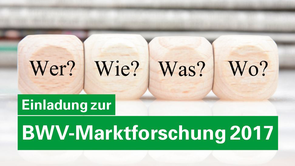 Helfen Sie uns Bildung in der Versicherungswirtschaft zu verbessern - Marktforschung des BWV Bildungsverbands 2017!