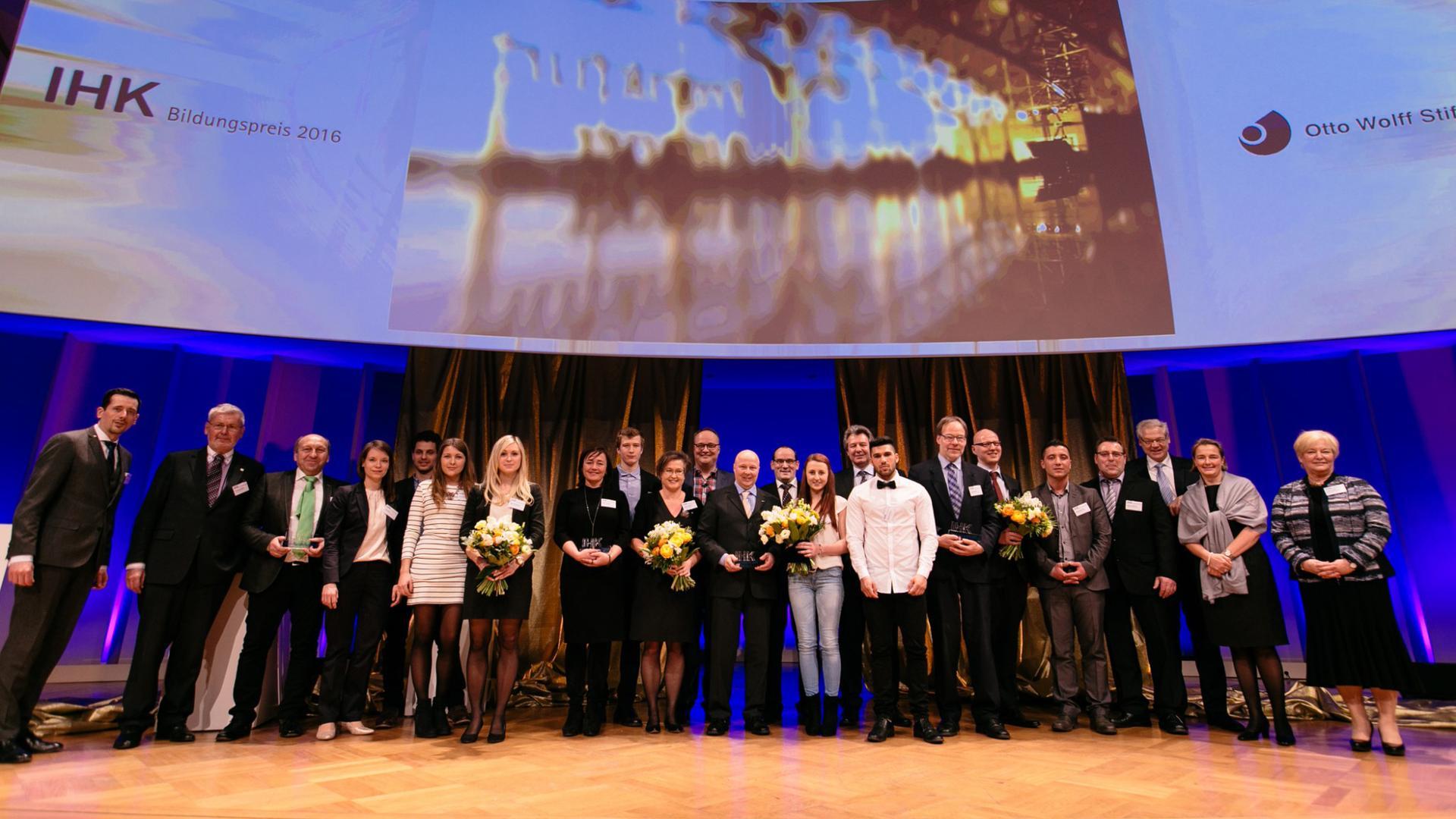 IHK-Bildungspreis 2016 verliehen