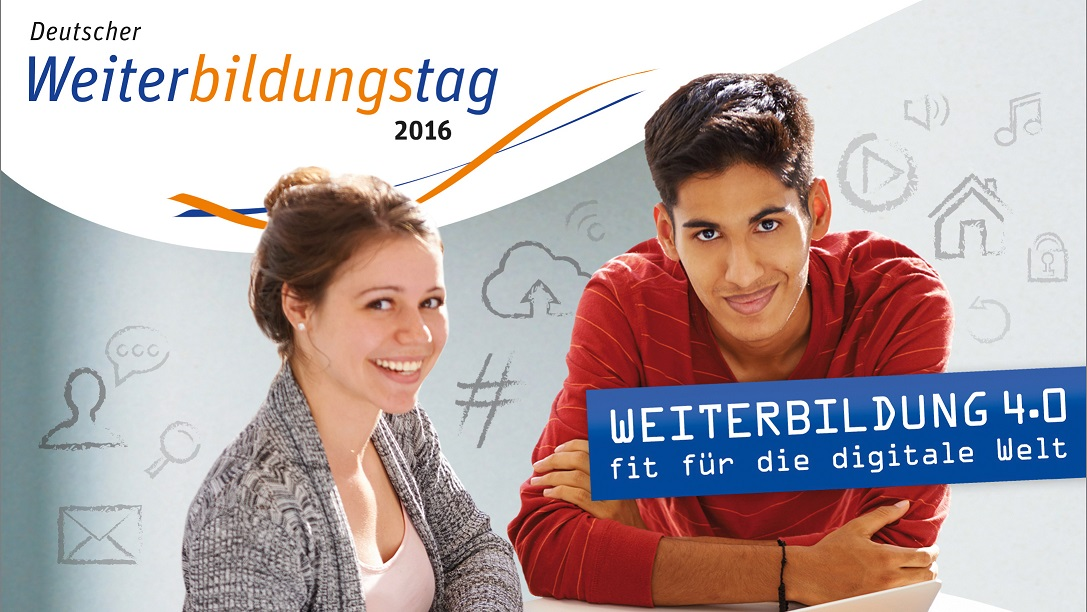 28. und 29. September 2016 in Berlin - Deutscher Weiterbildungstag 2016